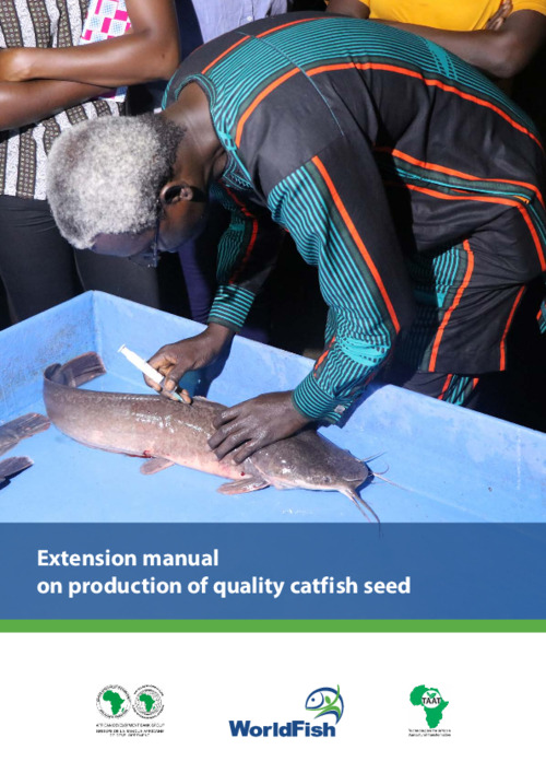 Extension manual on production of quality catfish seed