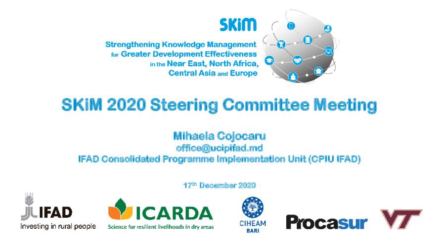 SKiM SC 2020 PPT - Moldova