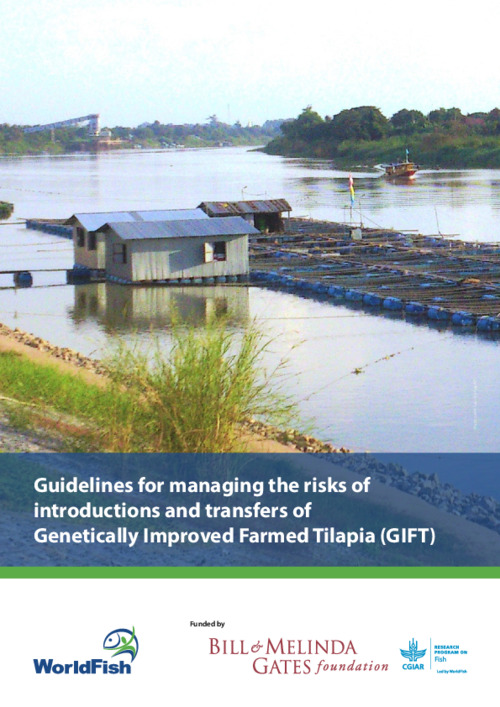 Guidelines for managing the risks of introductions and  transfers of Genetically Improved Farmed Tilapia (GIFT)