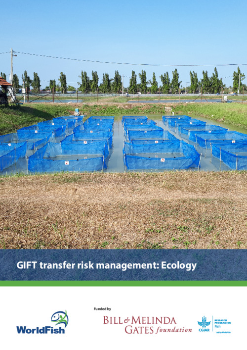 GIFT transfer risk management: Ecology. Ecology risk analysis and recommended risk management plan for the transfer of GIFT (Oreochromis niloticus) from Malaysia  to Nigeria