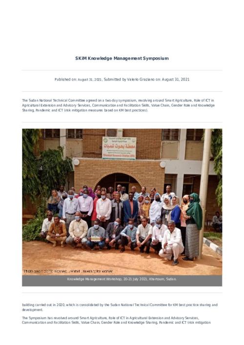 SKiM Knowledge Management Symposium