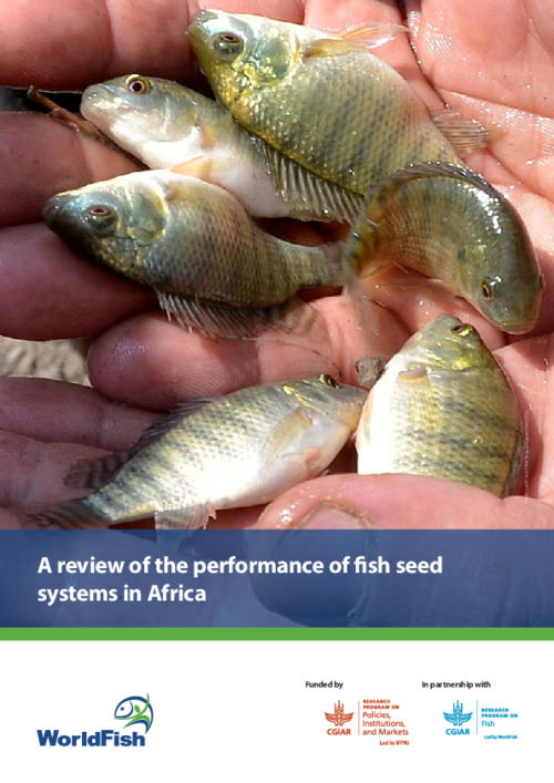 A review of the performance of fish seed systems in Africa
