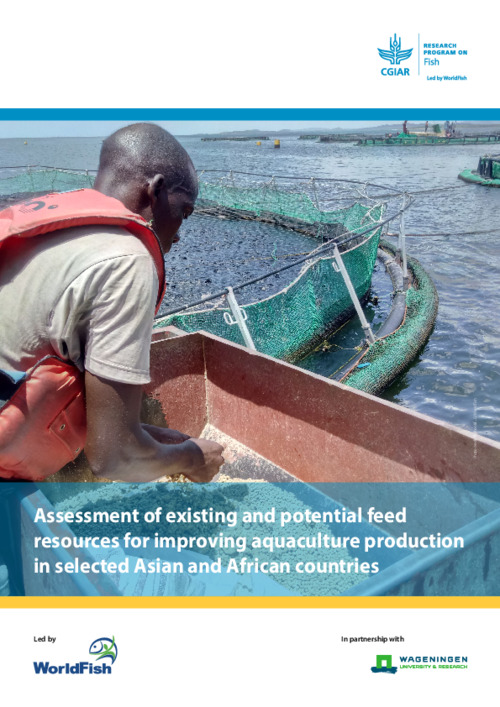 Assessment of existing and potential feed resources for improving aquaculture production in selected Asian and African countries